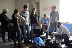 Dance on Meshuggah - Behind the scenes