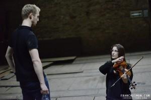 Violin Rehearsal